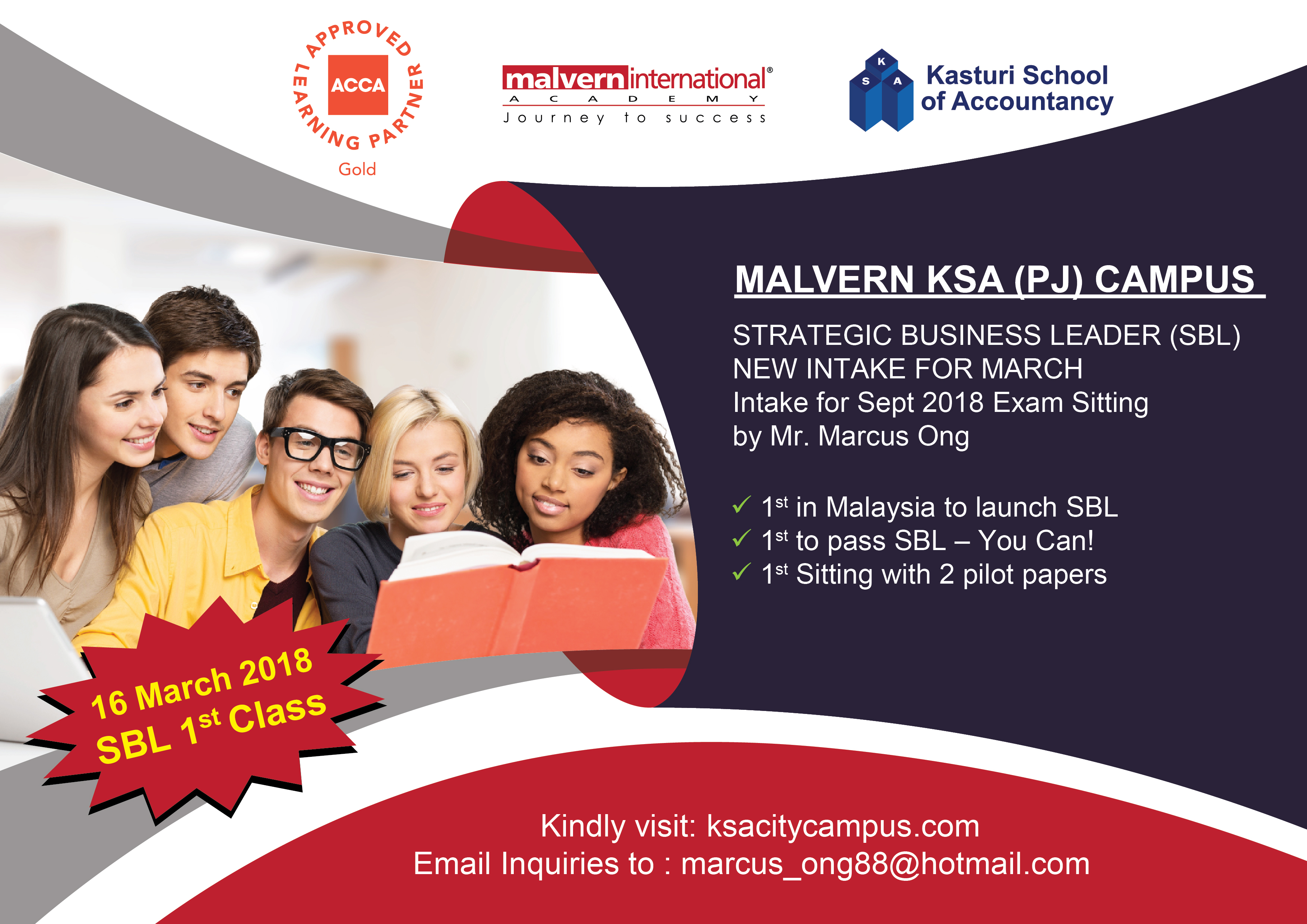 ACCA | Kasturi School of Accountancy